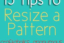 Sewing - Pattern Tips