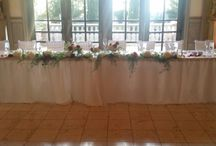 Wedding Sweetheart & Head tables