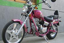 H.D. / motorky, auta