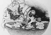 Stefano D'Andrea - Masonry / Massoneria Creativa / Illustrations of Stefano D'Andrea - Masonry / Massoneria Creativa