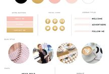 Blog Design ideas / by Brooke Berry