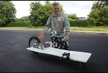 Autonomie / Idées de bricolage, cycles, petits véhicules en tous genres.