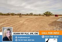 SOLD! Over An Acre Property With Amazing Mountain Views / 7830 S 543rd Avenue, Tonopah, AZ 85354