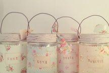 décor frascos, garrafas & latas