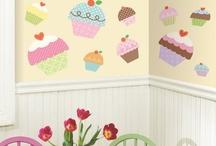 CAKE & POP: Ceiling, Wall & Floor / by Dawn Oxnard