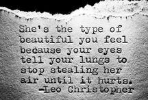 Leo Christopher Quotes / Quotes / by Rachael Charlton Allison