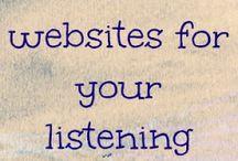 Literacy Stations- Listening Center