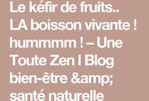 kefir de fruits