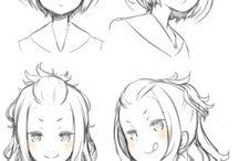 Рисую аниме
