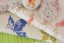 Crafty Blogging