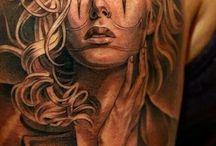 Ali tattoos