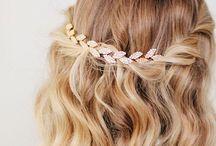 Wedding hair & hair piece