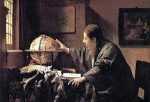 フェルメール / 17世紀/オランダ/天文学者