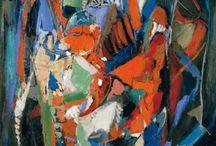 ANDRE LANSKOY / André Mikhaliovitch LANSKOY, né à Moscou en 1902 et mort en 1976, est un peintre français d'origine russe.