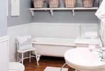 it started with BATH IDEAS / by Linda @ it all started with paint blog