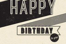Calligraphic Happy Birthday