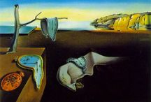 ArtEd- Salvador Dali / Salvador Dali was a well known Spanish surrealist painter born in Figueres, Spain in 1904; died in 1989. / by Donna Staten