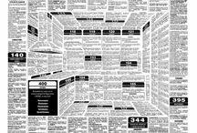 Ad Inspiration / Creative newspaper and print ad ideas
