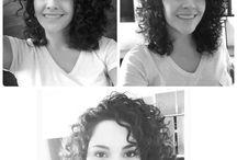 cabelos e cachos inspirações