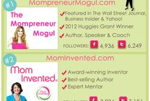 'Mompreneur'/ WAHM / Helpful business advice from Mom's who do it all!