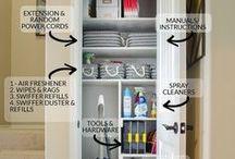 Linen closet organization / utility