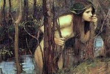 Pre-Raphaelite etc.