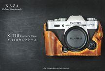Fujifilm XT10 カメラケース leather case 相機皮套 designed by KAZA