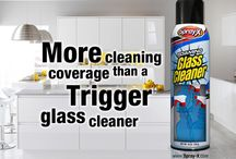 More Cleaning Coverage Than a Trigger Glass Cleaner