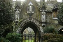 Gothic / Not to be confused with Goth... This is about art and architecture, medieval and Victorian.