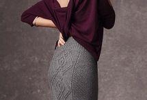 crochet skirts