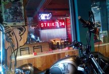 strike 34 cafe & hangout / located @buahbatu103