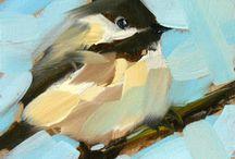 Maalaus - linnut