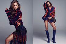 8 Artist management | Elle Spain 2014 with Isabel Goulart shot by Xavi Gordo