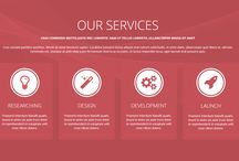 ! services / product / sales - webdesign block