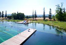 Piscinas / Fantásticas y maravillosas piscinas en edificios públicos, en casas privadas, ya sean con tratamiento químico-mecánico, o naturales. Las mejores instalaciones que han pasado por el blog de IS-ARQuitectura.