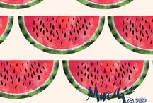 Fruites / Il·lustració de fruites