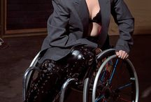 Wheelchair women in heels