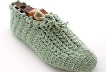 CROCHET SLIPPERS/SHOES