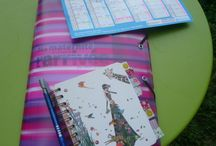 Grossesse - Bullet journal / mon carnet de grossesse, avec une partie agenda et des fiches pratiques à télécharger en format A5 :-) #bulletjournal #pregnancy #diy #bujo #enceinte #papeterie