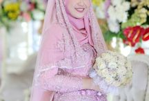 gaun pengantin