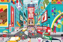 Cities & Town / by Yui Nattawan