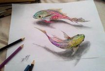 3D rysunki