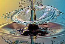 Drop splash