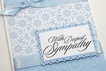 Sympathy handmade cards