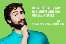 Clean It Up With Dorco / Enough is enough. Not all are meant to grow beards.