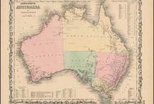 Australia Antique Maps