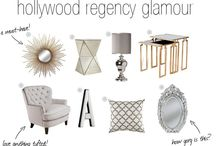 Interior Design Style - Hollywood Regency / Accesories