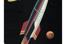 Retro Future Space / What space travel should look like! / by Josiah Robinson