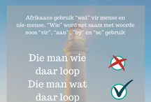 taal afrikaans