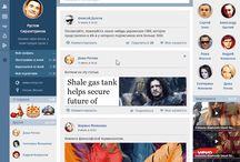 Social Network UI